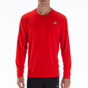Go 2 Long Sleeve, Fiery Red