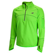 Impact Thermal 1/2 zip, Green Gecko