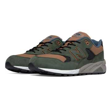 New Balance 580 Elite Edition REVlite, Hunter Green with Tan