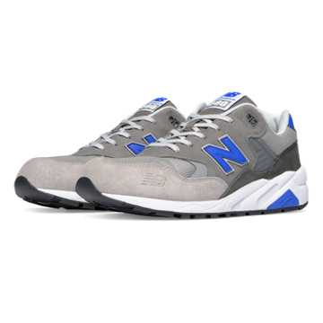 New Balance 580 Elite Edition Lost Classics, Grey with Blue