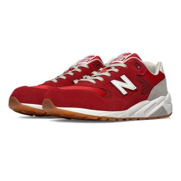 New Balance 580 Elite Edition REVlite, Scarlet Sage with Light Grey