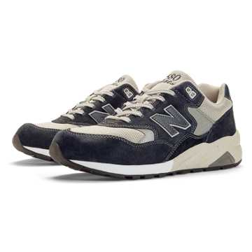 New Balance 580 Elite Edition REVlite, Navy with Grey & Cream