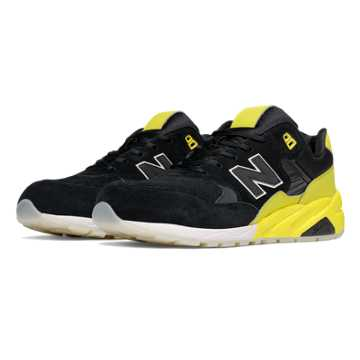 New Balance 580 Elite Edition Solarized, Black with Yellow