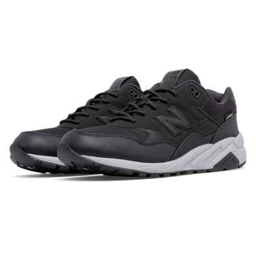 New Balance 580 Gore Tex, Black with White