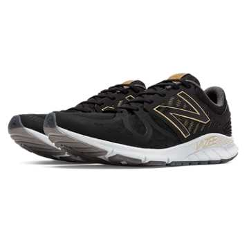 New Balance Limited Edition Vazee Rush Bold and Gold, Black with Gold
