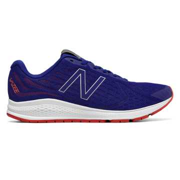 New Balance Vazee Rush v2, Blue with Red