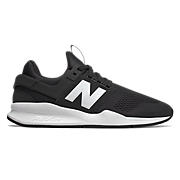 Men's 247v2, Black with White