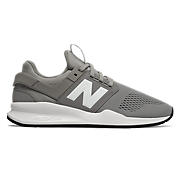 Men's 247v2, Grey with White