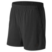 Woven 2-in-1 Short, Black with Caviar