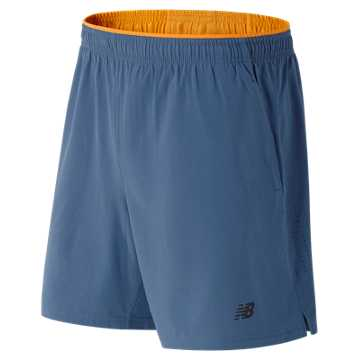 New Balance Woven 2-in-1 Short, Crater with Impulse