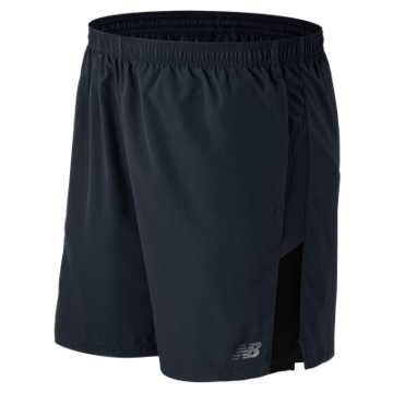 New Balance Accelerate 7 Inch Short, Thunder with Black