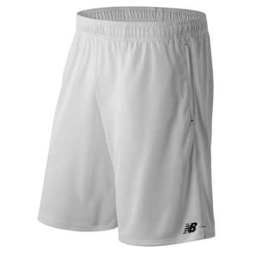 New Balance 9 Inch Knit Versa Short, White