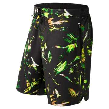 New Balance In Flux Board Short, Palm Print with Black