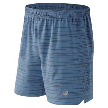 New Balance 7 Inch Reflective Shift Short, Crater Print