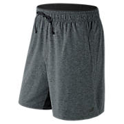 N Transit Short, Heather Charcoal
