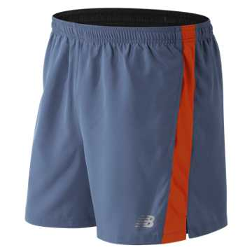 New Balance Accelerate 5 Inch Short, Crater with Lava