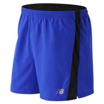 New Balance Accelerate 5 Inch Short, Pacific with Caviar