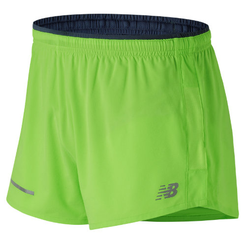 New Balance Impact 3 Inch Split Short Boy's Clothing Outlet - MS61231EGL
