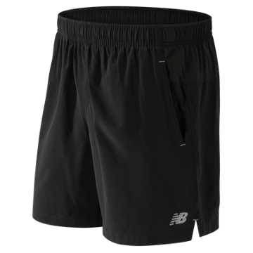 New Balance 7 Inch Challenger Short, Black