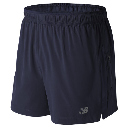 New Balance Impact 5 Inch Track Short Boy's Clothing Outlet - MS63226PGM
