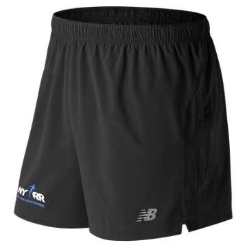 New Balance Run for Life Impact 5in Short, Black