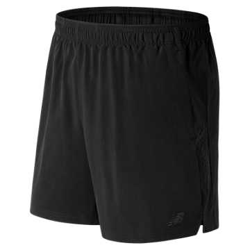 New Balance Woven 2 In 1 Short, Black