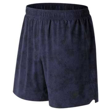 New Balance Printed Shift Short, Pigment with Black