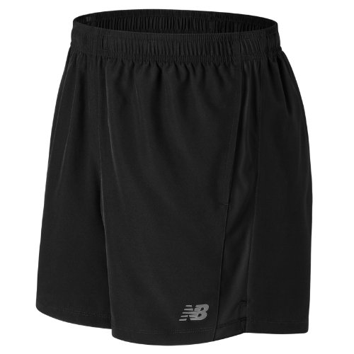 New Balance Accelerate 5 Inch Short Boy's All Clothing - MS71071BK