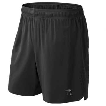 New Balance J.Crew 7 Inch Shift Short, Black