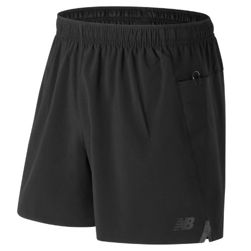 New Balance Precision 5 Inch Run Short Boy's All Clothing - MS73207BK