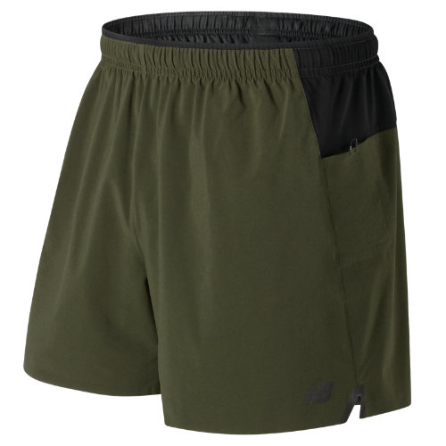 New Balance Precision 5 Inch Run Short Boy's All Clothing - MS73207MKG