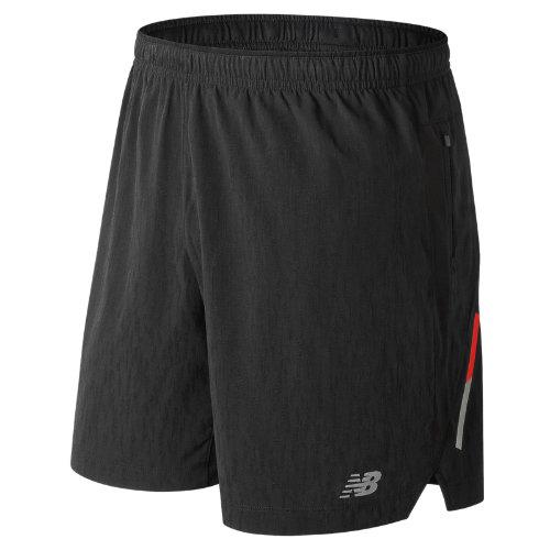 New Balance Jacquard Impact 7 Inch Short Boy's Men's Running Shorts - MS81267BK