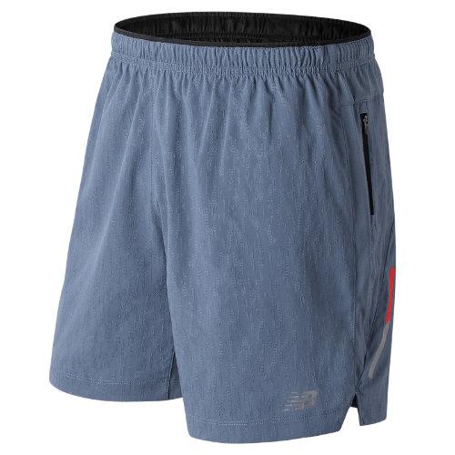 New Balance Jacquard Impact 7 Inch Short Boy's Men's Running Shorts - MS81267DPE