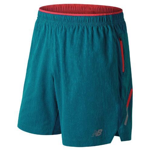 New Balance Jacquard Impact 7 Inch Short Boy's Men's Running Shorts - MS81267LKB