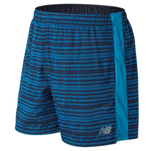 New Balance Accelerate Graphic 5 Inch Short Boy's Performance - MS81279MLE