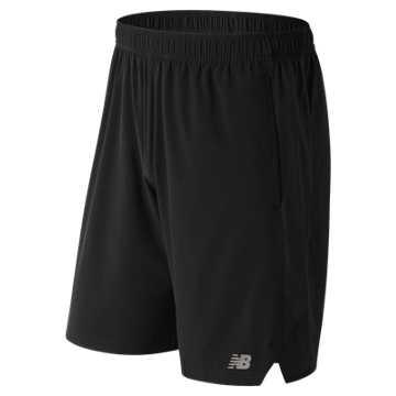Tenacity Woven Short, Black