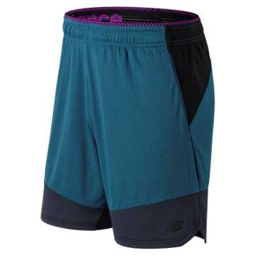 Men's R.W.T. Knit Short , Teal with Grey
