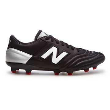 New Balance MiUK One FG, Black with White