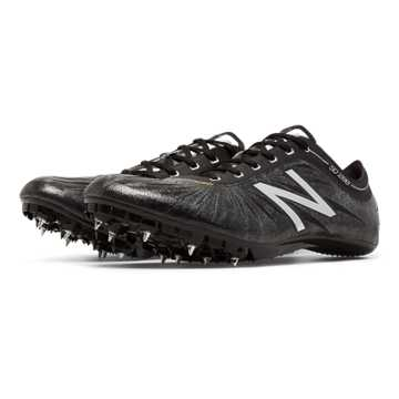 New Balance SD200v1 Spike, Black with Silver