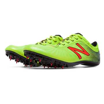 New Balance SD200v1 Spike, Toxic with Black & Flame