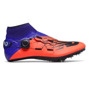 Men's Vazee Sigma v3 Spike, Orange with UV Blue