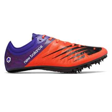 Men's Vazee Verge Spike, Orange with UV Blue