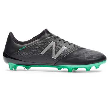 Men's Furon v5 Pro Leather - Firm Ground , Emerald with Black