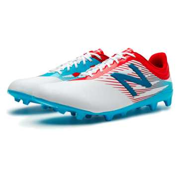 New Balance Furon 2.0 Dispatch FG, White with Atomic & Barracuda