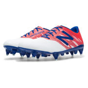 Furon Dispatch SG, White with Flame & Bolt