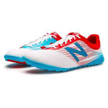 New Balance Furon 2.0 Dispatch TF, White with Atomic & Barracuda