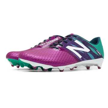 New Balance Furon Pro FG, Deep Orchid with Serene Green
