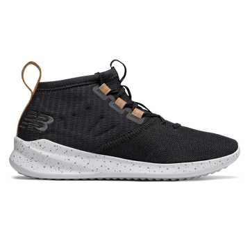 Cypher Run Knit , Black with Tan