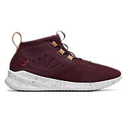 Cypher Run Knit , Burgundy with Tan