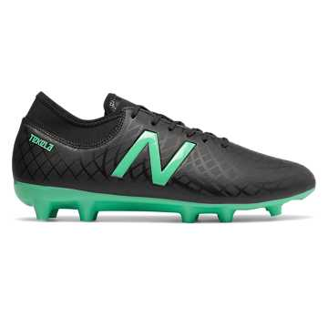 Men's Tekela Magique - Firm Ground , Black with Emerald